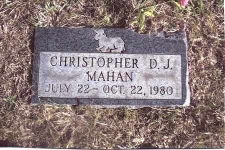 MAHAN, CHRISTOPHER - Gallia County, Ohio | CHRISTOPHER MAHAN - Ohio Gravestone Photos