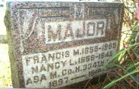 MAJOR, NANCY L. - Gallia County, Ohio | NANCY L. MAJOR - Ohio Gravestone Photos