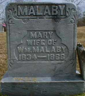 KINCADE MALABY, MARY - Gallia County, Ohio | MARY KINCADE MALABY - Ohio Gravestone Photos