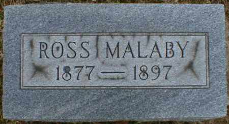 MALABY, ROSS - Gallia County, Ohio | ROSS MALABY - Ohio Gravestone Photos