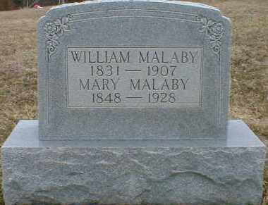 MALABY, WILLIAM - Gallia County, Ohio | WILLIAM MALABY - Ohio Gravestone Photos