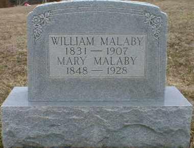 JONES MALABY, MARY - Gallia County, Ohio | MARY JONES MALABY - Ohio Gravestone Photos