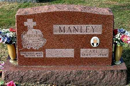 MANLEY, CARL CLINTON - Gallia County, Ohio | CARL CLINTON MANLEY - Ohio Gravestone Photos