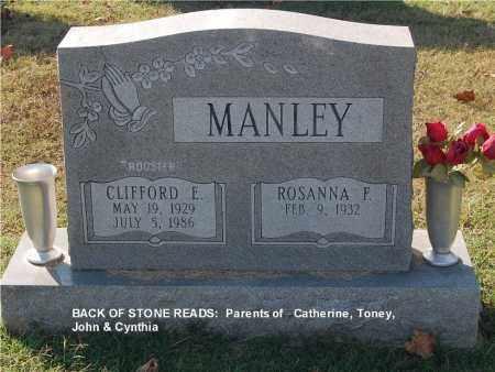 MANLEY, ROSANNA F. - Gallia County, Ohio | ROSANNA F. MANLEY - Ohio Gravestone Photos