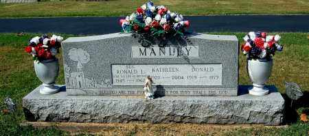 MANLEY, DONALD - Gallia County, Ohio | DONALD MANLEY - Ohio Gravestone Photos