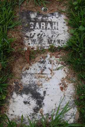 MANRING, SARAH - Gallia County, Ohio | SARAH MANRING - Ohio Gravestone Photos