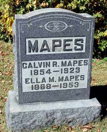 MAPES, CALVIN RUFUS - Gallia County, Ohio | CALVIN RUFUS MAPES - Ohio Gravestone Photos