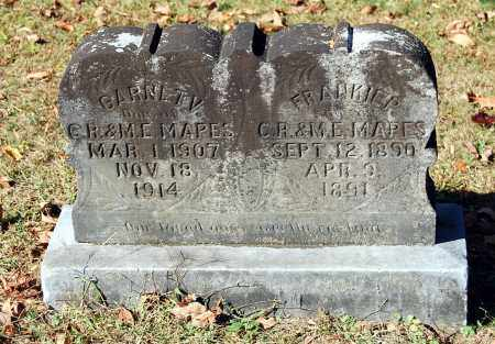 MAPES, FRANKIE P - Gallia County, Ohio | FRANKIE P MAPES - Ohio Gravestone Photos