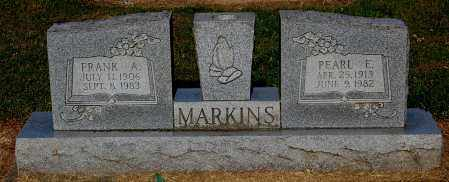 MARKINS, PEARL E - Gallia County, Ohio | PEARL E MARKINS - Ohio Gravestone Photos