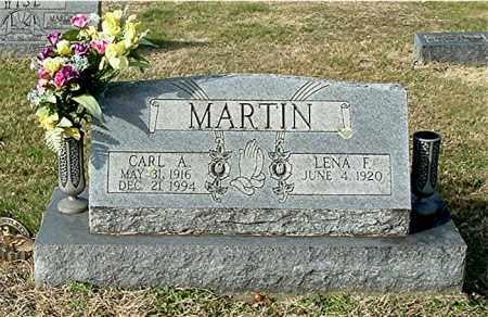 MARTIN, LENA F - Gallia County, Ohio | LENA F MARTIN - Ohio Gravestone Photos