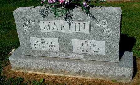 MARTIN, GEORGE E - Gallia County, Ohio | GEORGE E MARTIN - Ohio Gravestone Photos