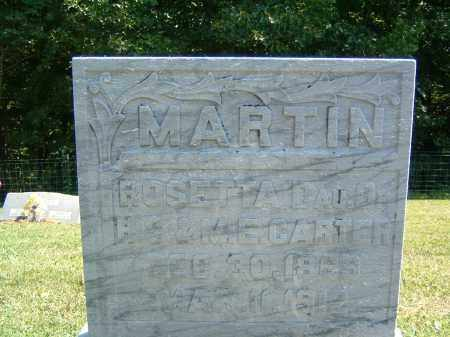 MARTIN, ROSETTA - Gallia County, Ohio | ROSETTA MARTIN - Ohio Gravestone Photos