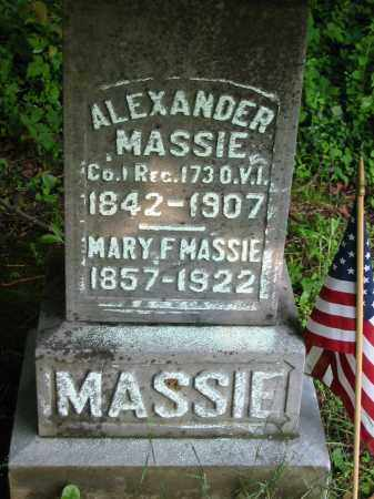MASSIE, ALEXANDER - Gallia County, Ohio | ALEXANDER MASSIE - Ohio Gravestone Photos
