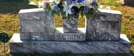 MATTHEWS, EVELYN - Gallia County, Ohio | EVELYN MATTHEWS - Ohio Gravestone Photos