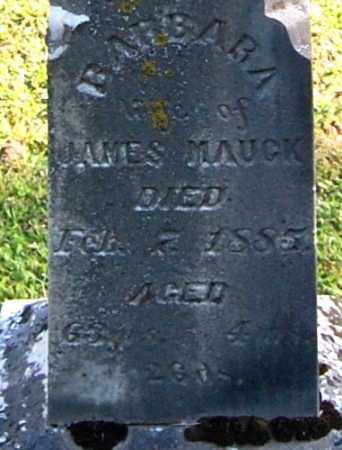 MAUCK, BARBARA (CLOSE-UP) - Gallia County, Ohio | BARBARA (CLOSE-UP) MAUCK - Ohio Gravestone Photos