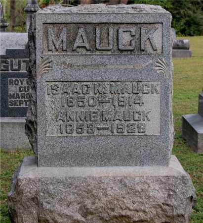 GOOD MAUCK, ANNIE - Gallia County, Ohio | ANNIE GOOD MAUCK - Ohio Gravestone Photos