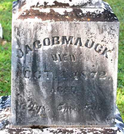MAUCK, JACOB (CLOSE-UP) - Gallia County, Ohio | JACOB (CLOSE-UP) MAUCK - Ohio Gravestone Photos