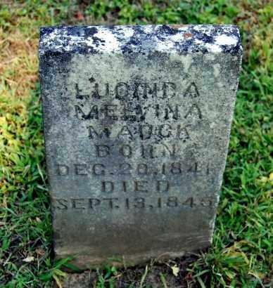 MAUCK, LUCINDA MELVINA - Gallia County, Ohio | LUCINDA MELVINA MAUCK - Ohio Gravestone Photos