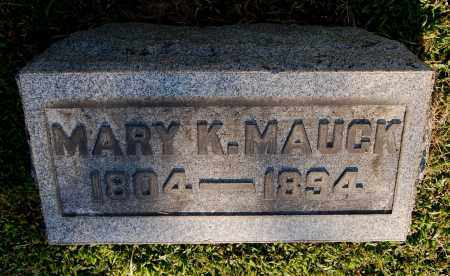 MAUCK, MARY K - Gallia County, Ohio | MARY K MAUCK - Ohio Gravestone Photos