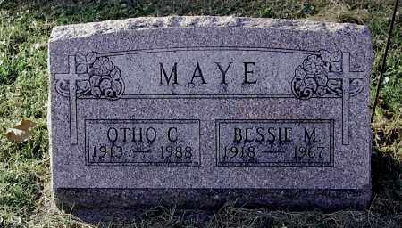 MAYE, BESSIE M - Gallia County, Ohio | BESSIE M MAYE - Ohio Gravestone Photos