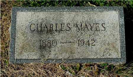 MAYES, CHARLES - Gallia County, Ohio | CHARLES MAYES - Ohio Gravestone Photos