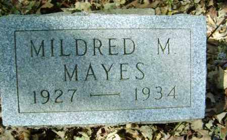 MAYES, MILDRED - Gallia County, Ohio | MILDRED MAYES - Ohio Gravestone Photos