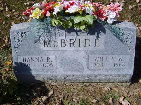 MCBRIDE, HANNAH - Gallia County, Ohio | HANNAH MCBRIDE - Ohio Gravestone Photos