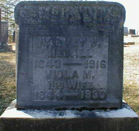 MCCALL, HARVEY - Gallia County, Ohio | HARVEY MCCALL - Ohio Gravestone Photos