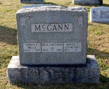 MCCANN, A. J. (DR.) - Gallia County, Ohio | A. J. (DR.) MCCANN - Ohio Gravestone Photos