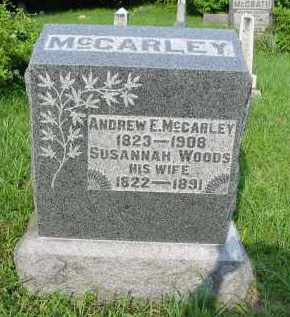 WOODS MCCARLEY, SUSANNAH - Gallia County, Ohio | SUSANNAH WOODS MCCARLEY - Ohio Gravestone Photos