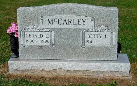 MCCARLEY, BETTY L - Gallia County, Ohio | BETTY L MCCARLEY - Ohio Gravestone Photos