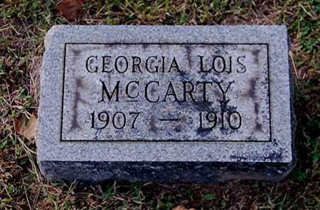 MCCARTY, GEORGIA LOIS - Gallia County, Ohio | GEORGIA LOIS MCCARTY - Ohio Gravestone Photos