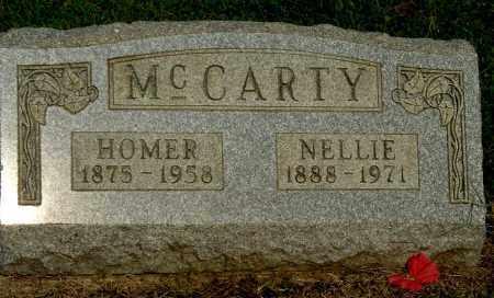 MCCARTY, HOMER - Gallia County, Ohio | HOMER MCCARTY - Ohio Gravestone Photos