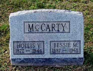 MCCARTY, HOLLIS V - Gallia County, Ohio | HOLLIS V MCCARTY - Ohio Gravestone Photos