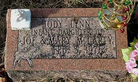 MCCARTY, JODY LYNN - Gallia County, Ohio | JODY LYNN MCCARTY - Ohio Gravestone Photos