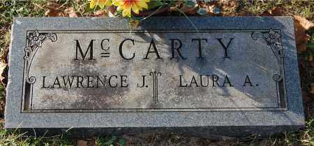 MCCARTY, LAURA A - Gallia County, Ohio | LAURA A MCCARTY - Ohio Gravestone Photos