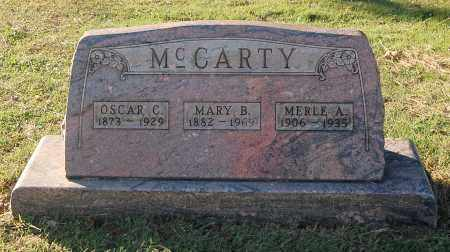 MCCARTY, MARY B - Gallia County, Ohio | MARY B MCCARTY - Ohio Gravestone Photos