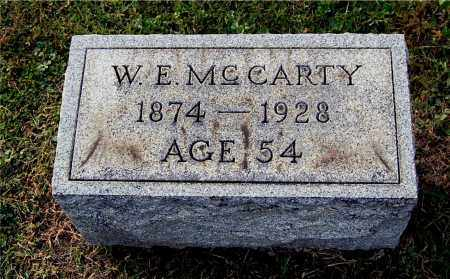 MCCARTY, WALTER EUGENE - Gallia County, Ohio | WALTER EUGENE MCCARTY - Ohio Gravestone Photos