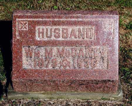 MCCARTY, WILLIAM M - Gallia County, Ohio   WILLIAM M MCCARTY - Ohio Gravestone Photos