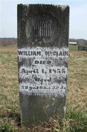 MCCLAIN, WILLIAM - Gallia County, Ohio   WILLIAM MCCLAIN - Ohio Gravestone Photos