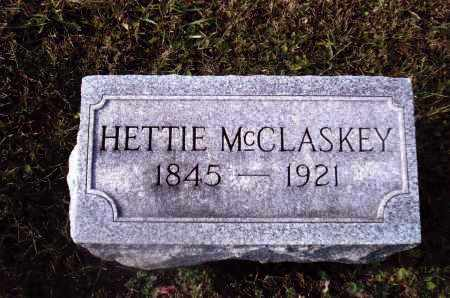 MCCLASKEY, HETTIE - Gallia County, Ohio | HETTIE MCCLASKEY - Ohio Gravestone Photos