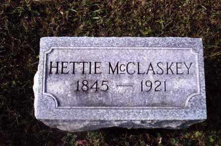 MCCLASKEY, HETTIE - Gallia County, Ohio | HETTIE MCCLASKEY - Ohio Gravestone Photos
