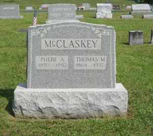MCCLASKEY, PHEBE A - Gallia County, Ohio | PHEBE A MCCLASKEY - Ohio Gravestone Photos