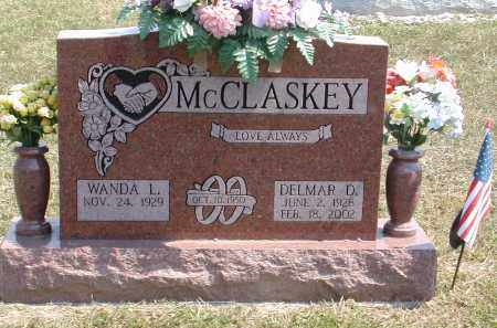 MCCLASKEY, DELMAR - Gallia County, Ohio | DELMAR MCCLASKEY - Ohio Gravestone Photos