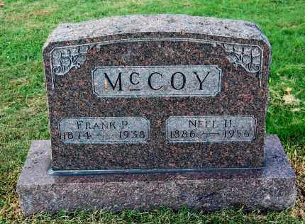MCCOY, FRANK P - Gallia County, Ohio | FRANK P MCCOY - Ohio Gravestone Photos