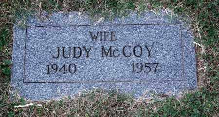 MCCOY, JUDY - Gallia County, Ohio | JUDY MCCOY - Ohio Gravestone Photos