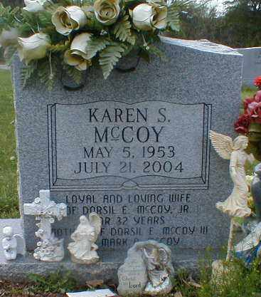 MCCOY, KAREN - Gallia County, Ohio | KAREN MCCOY - Ohio Gravestone Photos