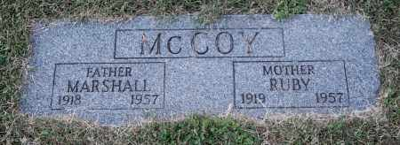 MCCOY, RUBY - Gallia County, Ohio | RUBY MCCOY - Ohio Gravestone Photos