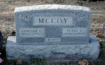 MCCOY, RANSOM B - Gallia County, Ohio | RANSOM B MCCOY - Ohio Gravestone Photos