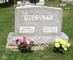 MCCULTY, HOMER - Gallia County, Ohio | HOMER MCCULTY - Ohio Gravestone Photos